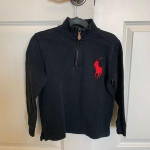 Polo Ralph Lauren top with quarter zip.